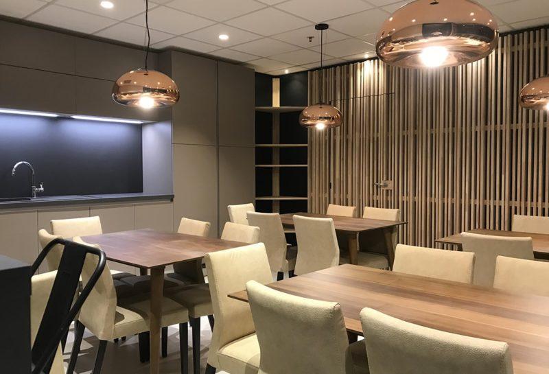 Gam Peinture et Décoration - Rénovation cafétéria